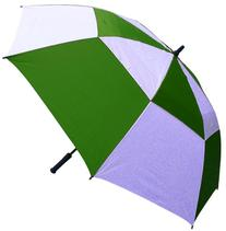 RainStoppers 62-Inch Double Canopy Golf Umbrella
