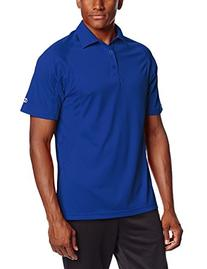 Champion Men's Double Dry Performance Polo, Athletic Royal,
