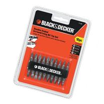 Black & Decker 71-081 Double Ended Screwdriving Bit Set