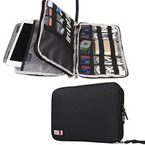 BUBM Double Layer Travel Gear Organizer / Electronics