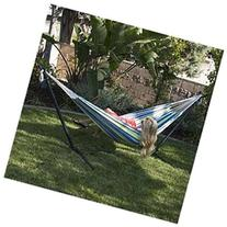 Bellezza 10ft Double Hammock Stand with Carrying Case Wheel