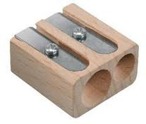 Dixon Lyra Double Hole Wooden Pencil Sharpener