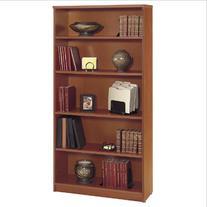5-Shelf Bookcase in Auburn Maple - Series C