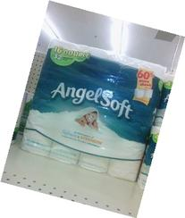 Angel Soft Double Roll Tissue, 16 ROL