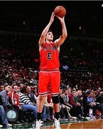 Doug McDermott Chicago Bulls 2014 NBA Action Photo