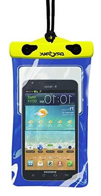 "DRY PAK DP-58 Yellow/Blue 5"" x 8"" Game Player, Smart Phone"