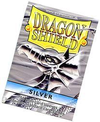 Dragon Shield Card Supplies YUGIOH Card Sleeves Silver 50