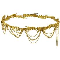 Jennifer Behr Draped Chain Annika Circlet Headpiece