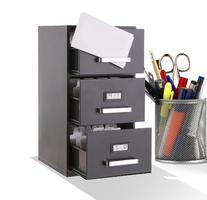 Forum Novelties 73663 3-Drawer Mini Filing Cabinet