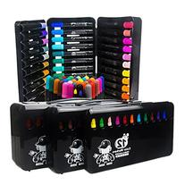Art Drawing Painting Sketching Marker 24 Assorted Color Gel