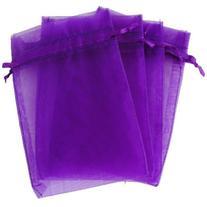 OurWarm 100pcs Organza Bags 4 x 6 Inch Gift Bags Organza
