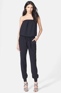 Women's Joie 'Fairley' Drawstring Waist Strapless Jumpsuit,