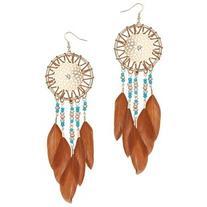 Miss Selfridge Dream Catcher Earrings