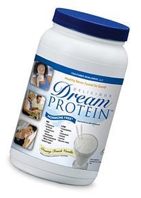 Dream Protein Whey Protein Powder, Creamy French Vanilla,