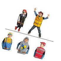 Set of 5 dress up boys Costumes 1 Car racing 2 Knight 3