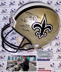 Drew Brees Autographed Hand Signed New Orleans Saints Full