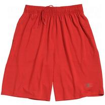 Russell Mens Dri-Power Piston Pocket Shorts Large True Red