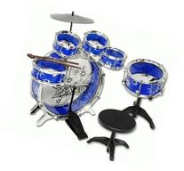 11pc Kids Boy Girl Drum Set Musical Instrument Toy Playset
