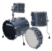 Sonor Drums SSE 12 SAFARI C1 BGS 4-Piece Drum Set with Black