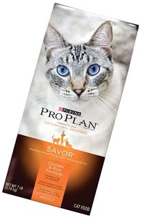 Purina Pro Plan Dry Cat Food, Savor, Adult Chicken and Rice