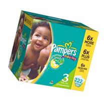 Pampers Baby Dry Diapers Size 2 Economy Pack Plus, 246 Count