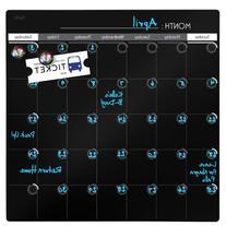 Quartet Dry-Erase Calendar, 14 x 14 Inches, 1-Month Design,