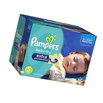 Pampers Baby Dry Extra Protection Diapers, Super Pack, Size