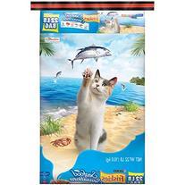 Friskies Dry Cat Food, Seafood Sensation, 22-Pound Bag, Pack