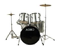 CODA DS-330-BK 5-Piece Drum Set, Black