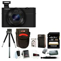 Sony Cyber-shot DSC-RX100 Digital Camera with Battery and
