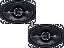 "Kicker DSC46  4"" x 6"" D-Series Coaxial 2-Way Car Speakers"