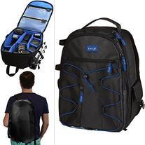 Acuvar DSLR Camera Backpack with Rain Cover