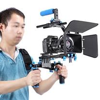 Neewer Professional DSLR Rig Set Movie Kit Film Making