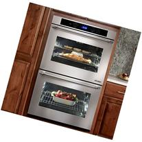 """Dacor DTO227S-208V Distinctive 27"""" Double Wall Oven in"""