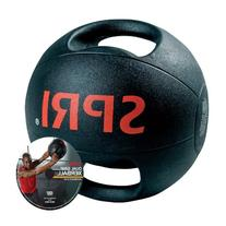 SPRI Dual Grip Xerball Medicine Ball, 10-Pound