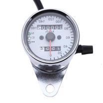 Zimo Dual Odometer Speedometer + Tachometer Gauge Motorcycle