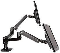 AmazonBasics Premium Dual Monitor Stand - Lift Engine Arm