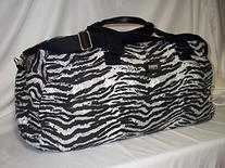 Vs Pink Duffle - Victorias Secret Love Pink Zebra Full Size