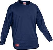 Rawlings  Adult Dugout Fleece Pullover, X-Large, Navy