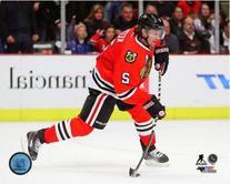 Duncan Keith Chicago Blackhawks 2013-2014 NHL Action Photo