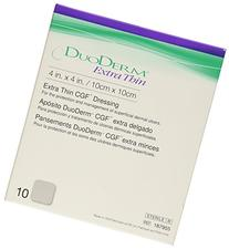 ConvaTec DuoDERM Extra Thin CGF Dressings 4 X 4 Inches
