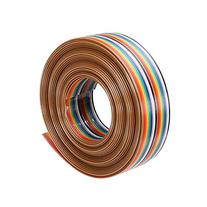 Focalwanna 5M 1.27mm 20P DuPont Cable Rainbow Flat Line