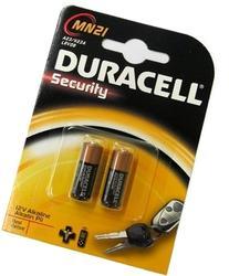 Duracell 12 Volt Alkaline Alarm Remote Battery MN21 / A23 2
