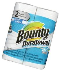 Bounty Duratowel Select-a-size Paper Towel, 2 Plus Rolls