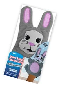 JOBAR DUSTY RABBIT CLEANING MITT MICROFIBER MATERIAL GLOVE
