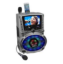 "DVD/CDG/MP3G Karaoke System with 7"" TFT Color Screen, Record"