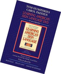 Learning American Sign Language DVD to accompany Learning