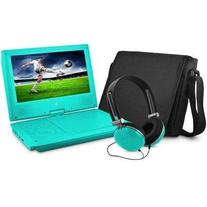 "9"" Dvd Player Bundle Teal ""Prod. Type: Dvd Players &"
