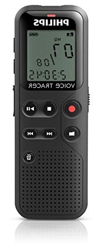 Philips DVT1100 4GB Digital Voice Recorder with PC