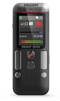 Philips DVT2500 Voice Tracer/Recorder, Anthracite/chrome